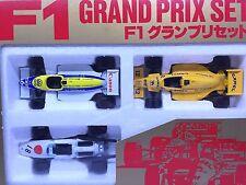 JAPAN TOMY TOMICA FORMULA F1 GRAND PRIX SET LOTUS 99T WILLIAMS FW 11B HONDA F1