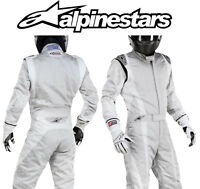 Alpinestars Super Tech Race Suit FIA Approved 3-Layer Oval/ Rally EU44 CLEARANCE