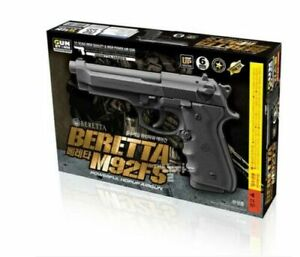 [Gunstorm] Beretta M92FS AirsoftPistol Hand BB ToyGun 6mm Black ⭐Tracking⭐