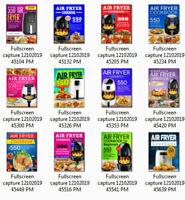 LOT OF 12 COOKBOOKS 550 Air Fryer Cookbook 2020 –  (((PDF/Eb00k)))