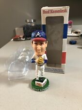 Brad Komminsk Atlanta Braves Bobblehead Ohio Northern University Autographed