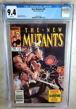 New Mutants #29 NEWSSTAND -  Marvel Comics 1985 CGC 9.4 NM WP - Comic H0166
