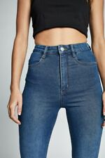 Cotton On Womens Ultra High Super Stretch Jean Denim  In  Blue
