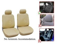 Vinyl Leather Two Front Car Seat Covers For Infiniti- L1510 Tan