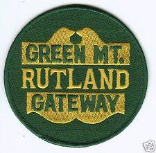 "RAILROAD PATCH - Rutland Green Mt. Railway 4"""
