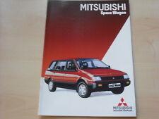 52708) Mitsubishi Space Wagon Prospekt 01/1985
