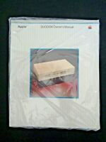 Vintage APPLE Computer 1983 DUODISK Owners Manual Sealed Steve Jobs Wozniak Tech
