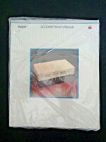 Vintage APPLE Computer 1983 DUODISK Owners Manual Sealed Steve Jobs Wozniak Tech