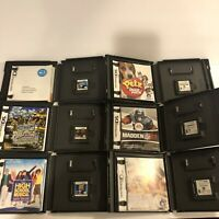 Lot Of 6 Nintendo DS 2DS 3DS Games Complete Madden Petz Big Mutha Truckers