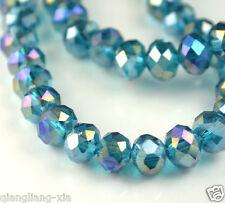 50pcs Crystal Loose Beads 10X12mm Malachite green +AB  A23