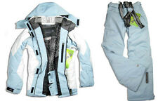 Women Waterproof Jacket Coat Snowboard Ski Suits Pants Snowsuits Winter Warm New