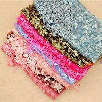 Ladies Design Lightweight Sheer Print Wrap Shawl Triangle Lace Fashion Scarf