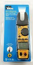 Ideal 200A AC TRMS Split-Jaw Meter w/ Flashlight & NCVT 61-405