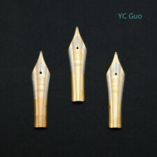3X Medium Nibs For Jinhao 159 X450 & X750 Fountain Pens Golden Color