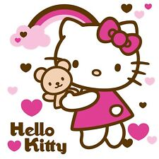 Hello Kitty Iron On Transfer For T-Shirt & Other Light Color Fabrics #3
