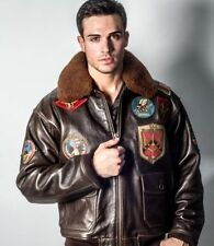 Top Gun Leather Coats & Jackets for Men | eBay