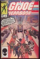 G.I. Joe YEARBOOK # 1 Marvel 1985 VF+ 1st Print Larry Hama Herb Trimpe ARAH