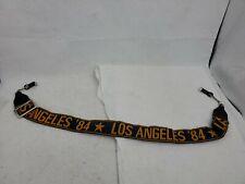 Camera Neck-Strap LA Los Angeles Star Vintage 80s 1980s '84 Leather Adjustable