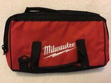 "New Milwaukee M18 M12 16"" x 10"" x 12"" Contractors Tool Bag w/ 6 Inside Pockets"