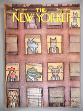 The New Yorker Magazine - September 27, 1969 ~ front cover only ~ Andre Francois