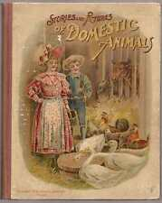 Stories and Pictures of Domestic Animals Anna F. Burnham 1879