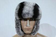 Handmade Men's Sheepskin  Aviator Pilot Rex  Fur Hat  size M-L Made in Turkey