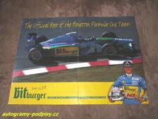 Michael SCHUMACHER (Benetton) - Bitburger poster 4xA4 Format