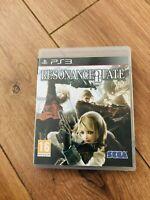 Jeu Resonance of Fate playstation 3 PS3 avec boitier en bon etat
