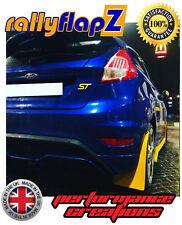 Bavettes pour s/'adapter FORD FOCUS MK1 ZETEC 98-04 RallyflapZ Bavette Blanc 4 mm