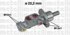 Pompa freni Ø22,20 M12 (2)+M10x1 (2) -Abs/Esp Peugeot 206 1.4/1.6, 2.0Hdi 03>06
