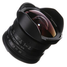 7artisans 7.5mm F/2.8 Fisheye Lens Manual Focus For Canon EF-M Mount EOS M10 M6