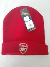 Arsenal Adult Bronx Beanie Hat Red Official AFC Merchandise New With Tags