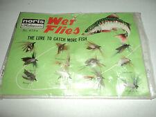 Noris Shakespeare Wet Flies No .4794 70's