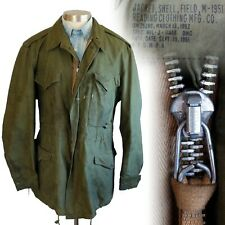 Vintage 1950s Korean War Army M-1951 M51 1952 Dated Field Jacket Medium Long