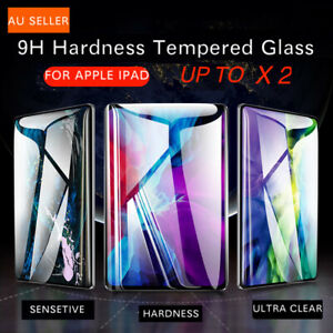 FOR iPad 7th 8th 6th 5thGen Air 1 2 9.7 Tempered Glass Screen Protector Up To 2