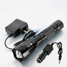 2200LM Tactical Police Heavy Duty 18650 LED Rechargeable Flashlight Torch Light