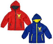 Abrigos y chaquetas de niño de 2 a 16 años rojos de poliéster