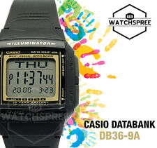 Casio Data Bank Watch DB36-9A