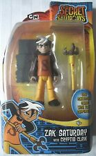 CARTOON NETWORK/SECRET SATURDAYS/6''ACTION FIGURE/ZAK SATURDAY WITH CRYPTID CLAW