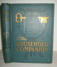 Rare�� Antique Cook Book_Etiquette_Homeopathi c_Toilet Recipes_Home Decorations