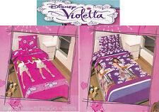 Set Sheets - 3 Pieces Disney. Violetta. 100% Cotton Single - 1 Square