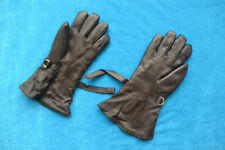 Surplus China Air Forces Fighter Pilot Winter Fur Leather Mittens Gloves