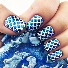2Sheet 3D Nail Vinyls Nail Art Manicure Stencil Hollow Out Stickers-DIY-Stamping