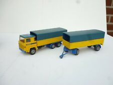 NACORAL 1/50 SCANIA LBS 140  DELIVERY TRUCK SET  GOOD CONDITION RARE!!