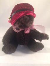 "Russ Berrie and Co. Lil Duchess Chocolate Teddy Bear ~ 6"" Tall"
