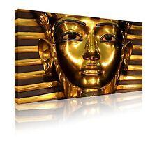78cm x 52cm Egypt Tutankhamun death mask canvas wall art print picture free p&p