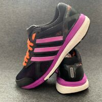 Adidas Adizero Tempo Boost Women's Shoes Size 4.5 Black Flats Trainers EUR 37.5