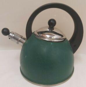 AGA Green Whistle Kettle Stainless Steel (D1)