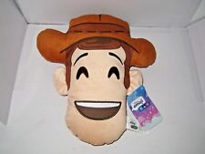 NEW JUST PLAY DISNEY EMOJI TOY STORY WOODY PLUSH PILLOW COLLECTION