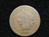 2021 SALE!!  AG+  1878 INDIAN HEAD CENT PENNY *NICE COLLECTIBLE U.S. COIN* #12k